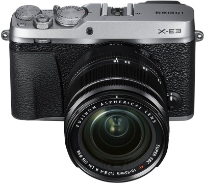 Fujifilm X-E3 Silver with XF 18-55 mm Lens Mirrorless Camera Kit(Silver)
