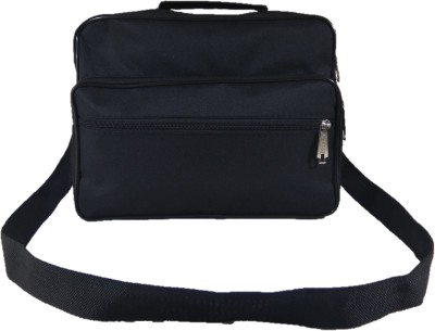 dara Black Messenger Bag