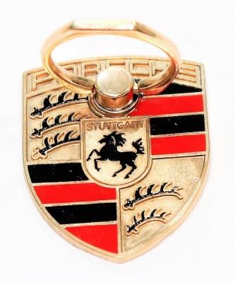 Indian Petals Car Logo Metal Mobile Holder Stand Ring Mobile Holder
