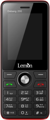 Lemon Dabang 200(Black & Red)