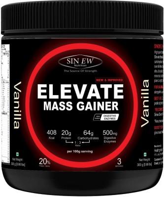 Sinew Nutrition Elevate Mass Gainer 300Gms (Vanilla) Weight Gainers/Mass Gainers(300 g, Vanilla)  available at flipkart for Rs.249