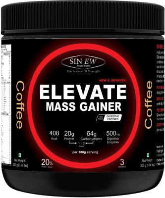 Sinew Nutrition Elevate Mass Gainer 300Gms (Coffee) Mass Gainers(300 g, Coffee)