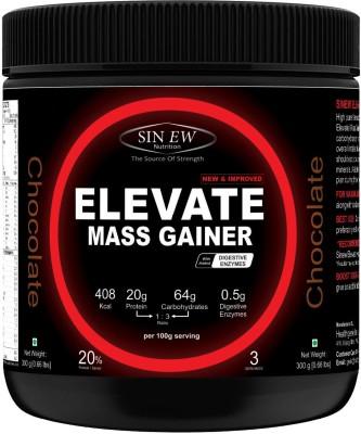 Sinew Nutrition Elevate Mass Gainer 300 Gms (Chocolate) Weight Gainers/Mass Gainers(300 g, Chocolate)  available at flipkart for Rs.249