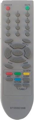 lipiworld 6710V00109B  TV Universal Remote Control Compatible For  CRT TV LG Remote Controller(Gray)