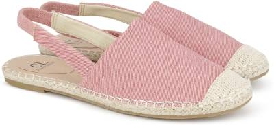 Miss CL Women PINK Flats