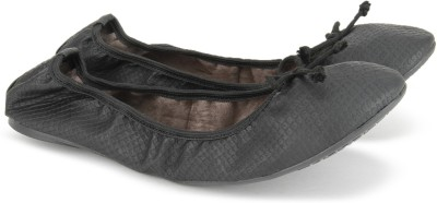 Carlton London CLL-3826 Ballerina For Women(Black)