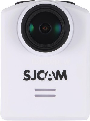 View SJCAM SJ M20 16MP 4K 2304*1296p 30fps Gyro Stabilization WiFi Waterproof DVR Mini Camcorder & Sports & Action Camera Sports and Action Camera(White 16 MP) Price Online(SJCAM)