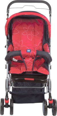 MeeMee Comfortable Pram with 3 Seating Positions (Red) Pram(3, Red)