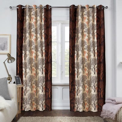 Raaviaa Polyester Window Curtain 152 cm Single Curtain(Printed Multicolor)  available at flipkart for Rs.193