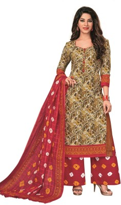 aef510d2cfa View Aarvi Fashion Cotton Printed Salwar Suit Material(Un-stitched) Price  Online
