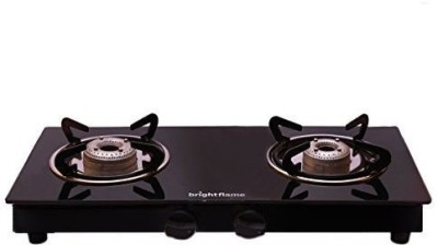 Pigeon Ultra Glass, Stainless Steel Manual Gas Stove(2 Burners)