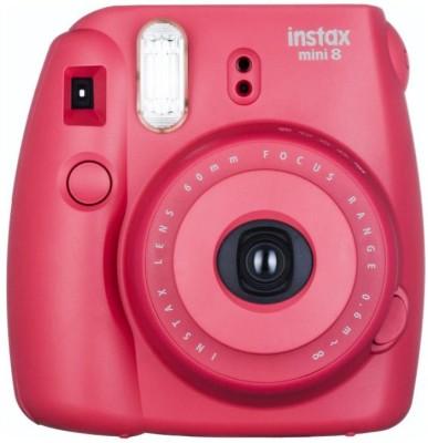 View Fujifilm Instax Mini 8 Joy Box (Raspberry) Instant Camera(Red)  Price Online