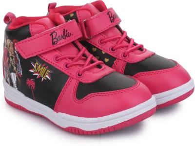 Barbie Girls Velcro Walking Shoes Pink