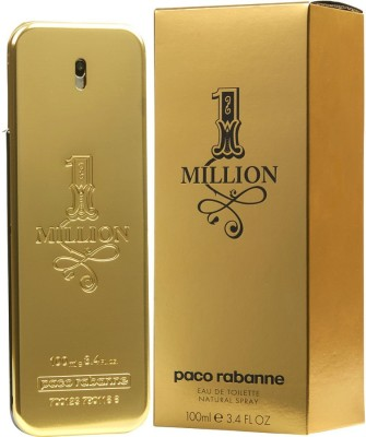 PACO Rabanne One Million EDT Eau de Toilette  -  100 ml(For Men)  available at flipkart for Rs.2899