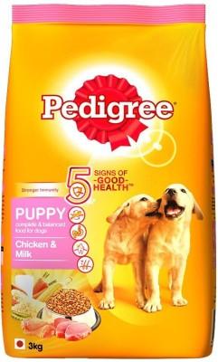 Pedigree Puppy Chicken, Milk 3 kg Dry Dog Food