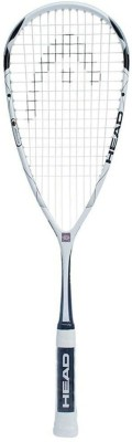 Head Microgel 110 Speed White, Black Strung Squash Racquet(4.0/8, Weight - 110 g)  available at flipkart for Rs.8999
