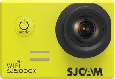 SJCAM 4K SJ5000X Elite WiFi 4K 24fps 2K30fps Gyro Sports DV 2.0 LCD NTK96660 Diving 30m Waterproof Sports and Action Camera(Yellow 12 MP) 1