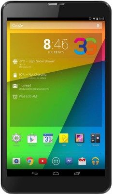 I Kall N2 4 GB 7 inch inch with Wi-Fi+3G Tablet (Black) at flipkart