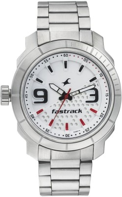 Fastrack 3168SM01 Loopholes Analog Watch For Men