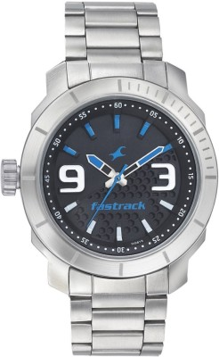 Fastrack 3168SM02 Loopholes Analog Watch For Men