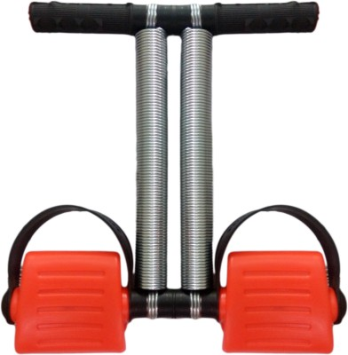 Fitness Kart Tummy Trimmer Newly Designed With Flexible Spring Easy to Stretch and Light Weight Ab Exerciser(Red)