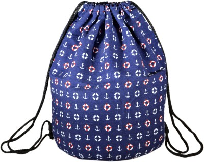 INSTABUYZ Sports Backpack / Drawstring Backpack / Stylish Multipurpose Fabric Gym Bags / Teen Yoga Dance Bag / Lightweight Gym Back Bag for Cycling / Hiking / College / Gymback Travel Daypack 3 L Backpack(Blue)  available at flipkart for Rs.324