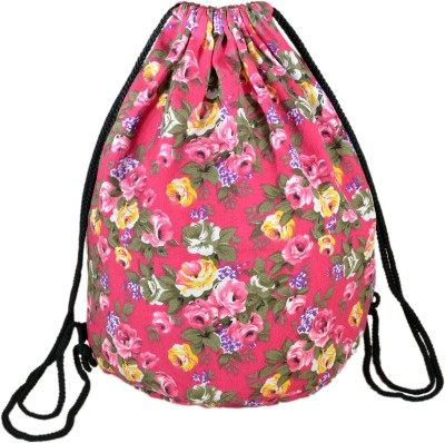 INSTABUYZ Sports Backpack / Drawstring Backpack / Stylish Multipurpose Fabric Gym Bags / Teen Yoga Dance Bag / Lightweight Gym Back Bag for Cycling / Hiking / College / Gymback Travel Daypack 3 L Backpack(Multicolor)  available at flipkart for Rs.324