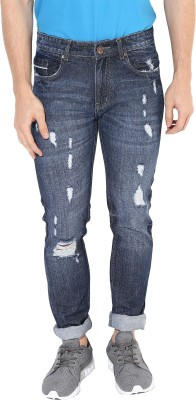 Realm Slim Men Blue Jeans