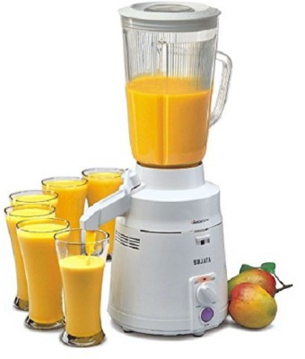Mantavya Fruit And Vegetable Mixer Juicer With Waste Collector 0 W Juicer(Orange, 1 Jar)