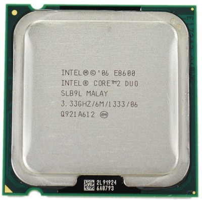 Intel 3.33 GHz LGA 775 E8600 Processor(Silver)