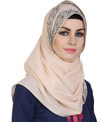 Momin Libas Embroidered Cotton Blend Girls Scarf
