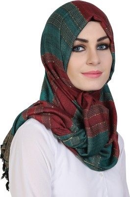 Momin Libas Printed Cotton Viscose Blend Girls Scarf
