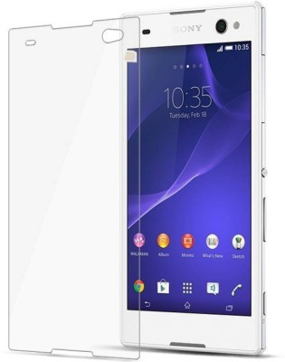 BIZBEEtech Tempered Glass Guard for Sony Xperia C3 TRANSPARENT