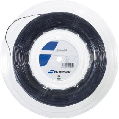Babolat SG Spiraltek 1.3 Tennis String - 200 m(Black)
