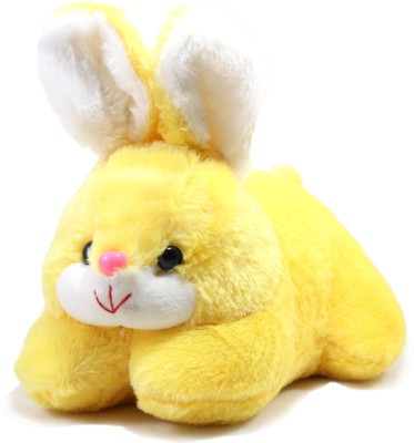 Tickles Cute Rabbit   26 cm Yellow Tickles Soft Toys
