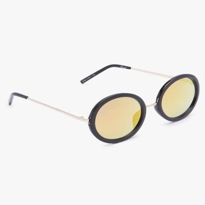 56924ded5c 48% OFF on Floyd Round Sunglasses(Red) on Flipkart
