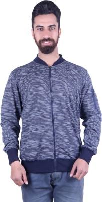 EMERA Full Sleeve Self Design Men's Sweatshirt