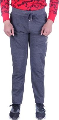 EMERA Solid Men's Grey Track Pants