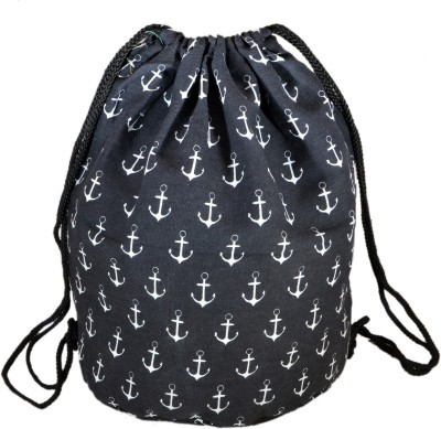 INSTABUYZ Sports Backpack / Drawstring Backpack / Stylish Multipurpose Fabric Gym Bags / Teen Yoga Dance Bag / Lightweight Gym Back Bag for Cycling / Hiking / College / Gymback Travel Daypack 3 L Backpack(Black)  available at flipkart for Rs.324