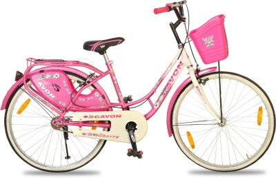 Avon Sherry 24 T Single Speed Road Cycle(Pink)  available at flipkart for Rs.5399