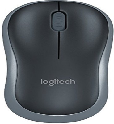 Logitech M185 Wireless Optical  Gaming Mouse(Bluetooth, Black)  available at flipkart for Rs.999