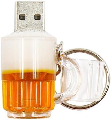 Pankreeti Beer Glass Cup 16 GB Pen Drive(Yellow)