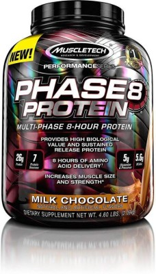 Muscletech Performance Series Phase 8 Whey Protein(2.09 kg, Milk, Chocolate)