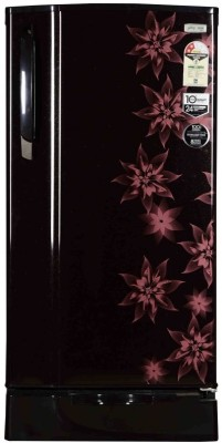 Godrej 185 L Direct Cool Single Door Refrigerator(RD EDGESX 185 PM 2.2, Berry Bloom, 2017)