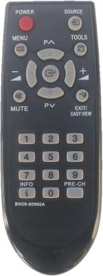 LipiWorld BN59-00960A CRT TV Universal Remote Control Compatible For SAMSUNG CRT TV Remote Controller(Black)