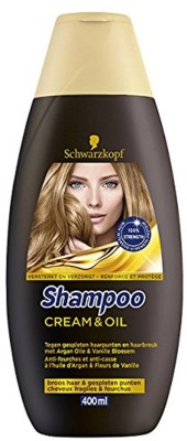 Schwarzkopf shampoo cream and oil 400ml(400 ml)