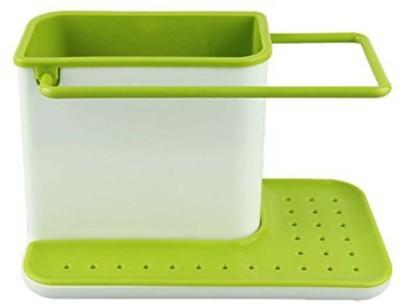 moradiya fresh 3 in 1 Sink Caddy Organiser Stand Plastic Kitchen Rack Sink Sponge Holder(Plastic)  available at flipkart for Rs.350