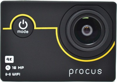 View PROCUS 4K Action Camera Rush 4K Sports and Action Camera(Black 16 MP) Price Online(PROCUS)
