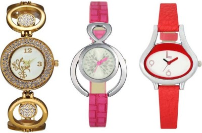 Piu Collection PC 0005_SUPER HOT LOOK_ Stylish three watches Watch  - For Girls   Watches  (piu collection)
