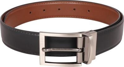 Osaiz Boys Formal Black, Brown Synthetic Reversible Belt
